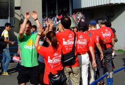 スポーツボランティア人口が急増している
