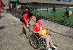写真:スーパーラグビーの運営を支えたボランティアスタッフ