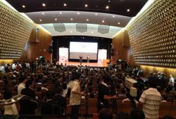 写真:13年9月、2020年のオリンピック・パラリンピック開催都市が東京に決まった