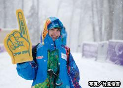 写真:ソチパラリンピックのボランティアスタッフ。五輪をあわせて平均年齢は25歳だった