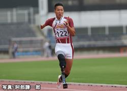 写真:東京パラリンピックで金メダルを目指している池田選手