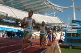 陸上競技―激走する選手たち―オリンピックスタジアムより