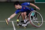 車いすテニス    写真/竹見脩吾