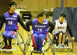 車椅子バスケットボール    写真/阿部謙一郎