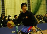 車椅子バスケットボール 鈴木明将    写真/阿部謙一郎