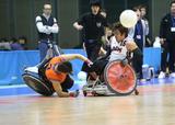 第15回ウィルチェアーラグビー日本選手権大会     写真/阿部謙一郎