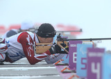 ソチ2014パラリンピック  バイアスロン 久保恒造    写真/阿部謙一郎