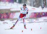 ソチ2014パラリンピック  バイアスロン 出来島桃子    写真/阿部謙一郎