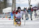 ソチ2014パラリンピック クロスカントリースキー 江野麻由子 写真/阿部謙一郎