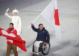ソチ2014パラリンピック冬季競技大会 閉会式 狩野亮   写真/阿部謙一郎