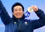 ソチ2014パラリンピック  アルペンスキー 鈴木猛史    写真/竹見脩吾