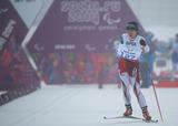 ソチ2014パラリンピック  クロスカントリースキー 出来島 桃子    写真/竹見脩吾
