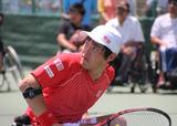 車いすテニス      JAPAN OPEN 2014      国枝慎吾