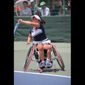車いすテニス      JAPAN OPEN 2014      上地結衣