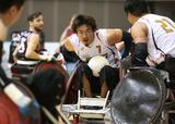 2014ジャパンパラウィルチェアーラグビー競技大会    写真/阿部謙一郎