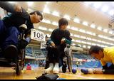 第16回日本ボッチャ選手権大会    写真/竹見脩吾