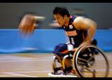 車椅子バスケットボール全国選抜大会    写真/竹見脩吾