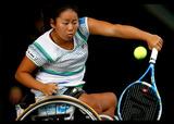 第25回 NEC全日本選抜車いすテニス選手権大会    写真/竹見脩吾