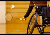 第1回日本障がい者バドミントン選手権大会    写真/竹見脩吾