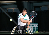 第26回 三井不動産 全日本選抜車いすテニスマスターズ    写真/阿部謙一郎
