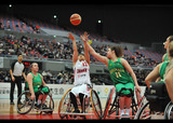 2018国際親善女子車いすバスケットボール大阪大会    写真/八木敏久