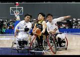 第46回日本車いすバスケットボール選手権大会    写真/阿部謙一