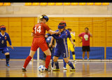 さいたま市ノーマライゼーションカップ2019 ブラインドサッカー国際親善試合 女子日本代表 対 女子IBSA世界選抜    写真/阿部謙一郎