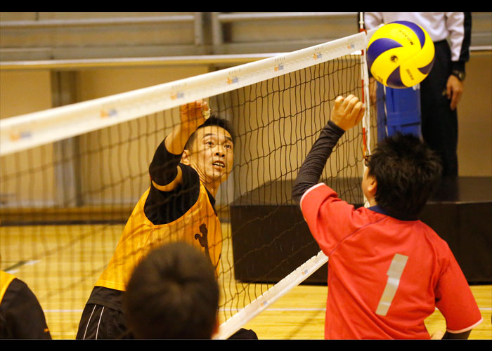 第20回日本シッティングバレーボール選手権大会    写真/阿部謙一郎