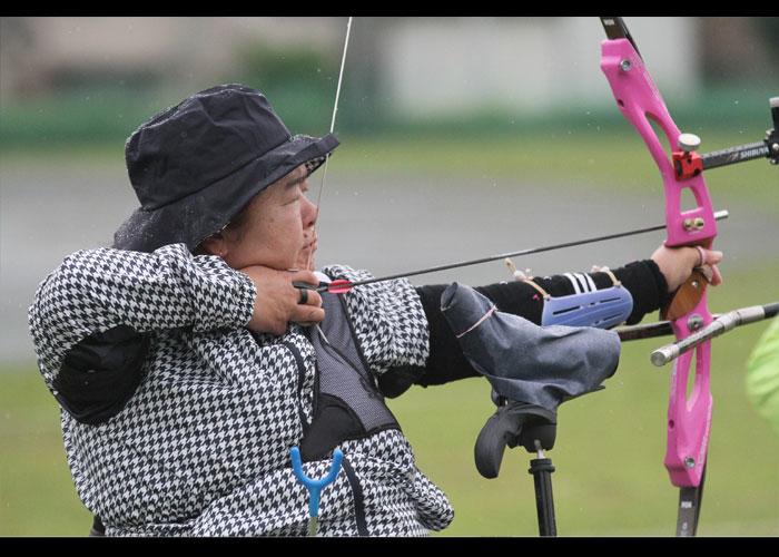 第3回JPAF杯パラアーチェリートーナメント大会    写真/阿部謙一郎