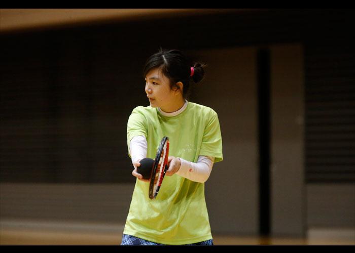 第27回日本ブラインドテニス大会    写真/阿部謙一郎