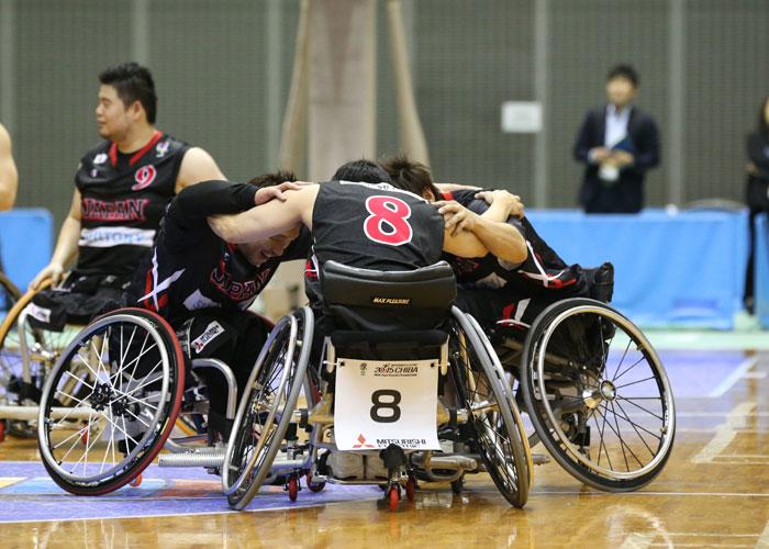 三菱電機2015IWBF アジアオセアニアチャンピオンシップ千葉  写真/阿部謙一郎