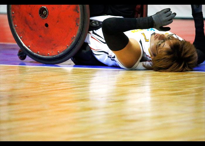 2015ジャパンパラウィルチェアーラグビー競技大会    写真/竹見脩吾