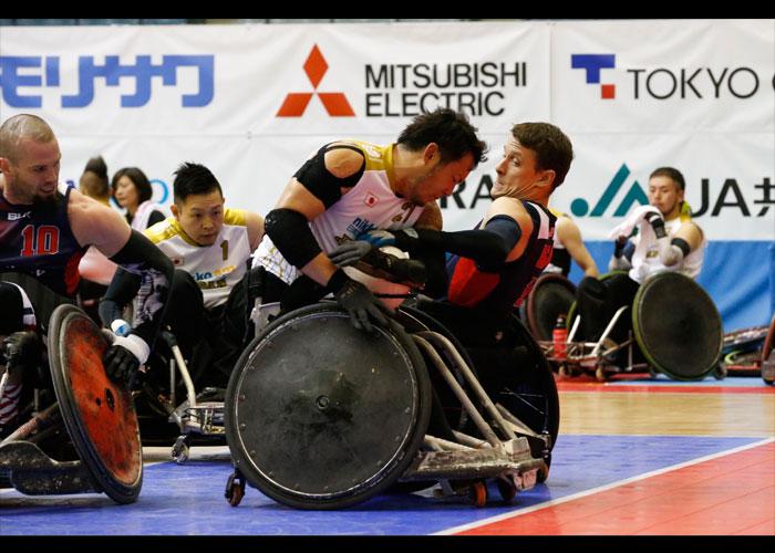 2016ジャパンパラウィルチェアーラグビー競技大会    写真/阿部謙一郎