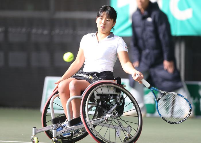 第23回 NEC全日本選抜車いすテニス選手権大会    写真/阿部謙一郎