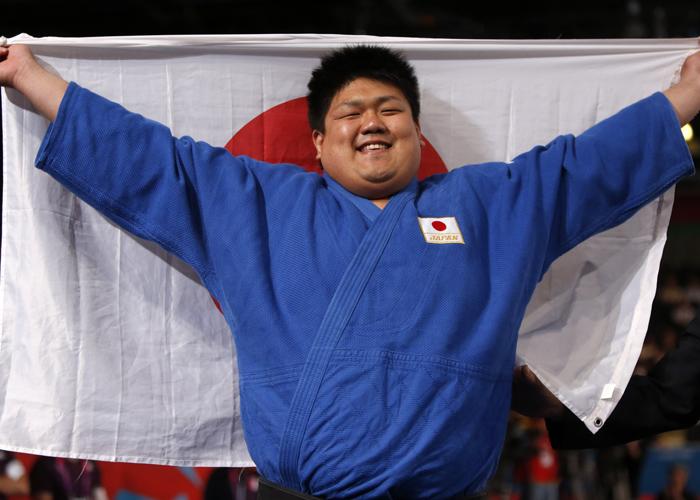 ロンドンパラリンピック 柔道100キロ超級で金 正木健人  写真/竹見脩吾
