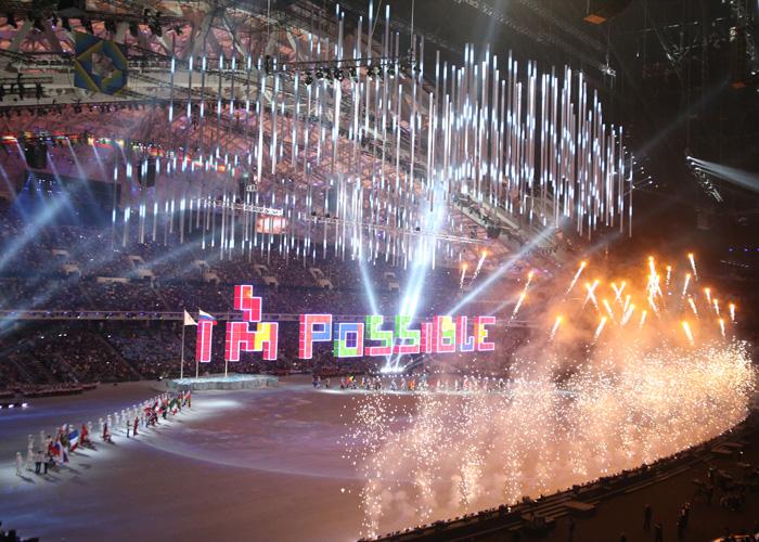ソチ2014パラリンピック冬季競技大会 閉会式    写真/阿部謙一郎