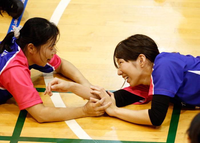 第18回日本シッティングバレーボール選手権大会    写真/竹見脩吾