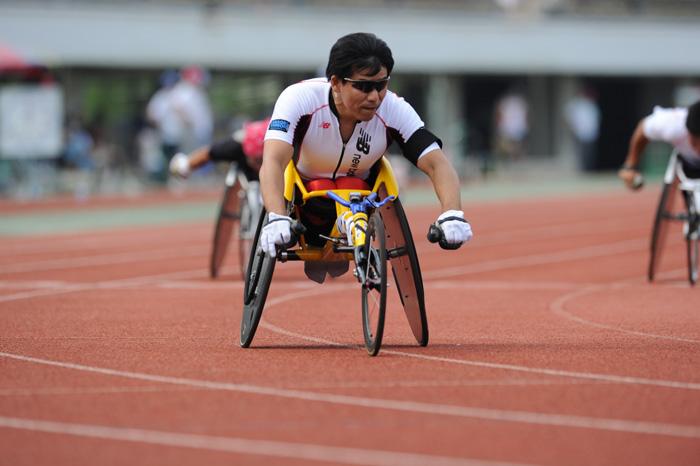 ゴールだけを見据えて―2010ジャパンパラリンピック陸上競技大会