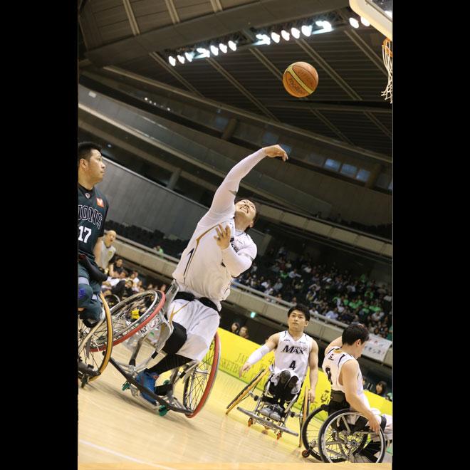 第43回日本車椅子バスケットボール選手権大会    写真/阿部謙一郎