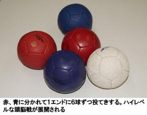 赤、青に分かれて1エンドに6球ずつ投てきする。ハイレベルな頭脳戦が展開される