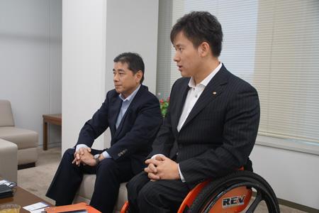 古郡宏隆氏・西勇輝選手