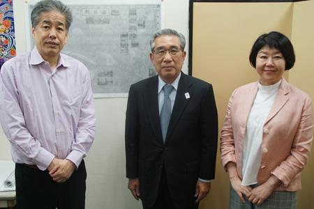 左から二宮、髙橋、伊藤