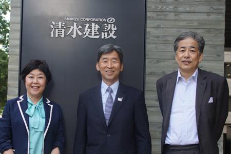 写真:左から、伊藤、那須原、二宮