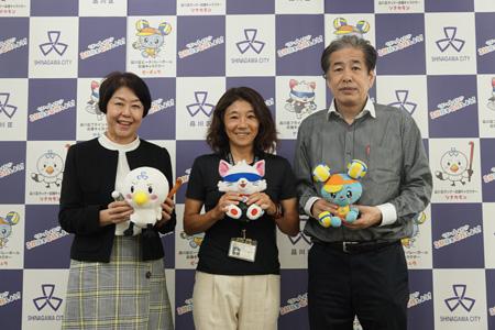 写真:左から伊藤、辻、二宮