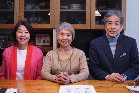 写真:左から伊藤、吉田、二宮