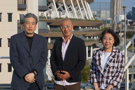 写真:左から二宮、須藤、伊藤