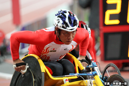 写真:ロンドン2012パラリンピック 陸上競技 伊藤智也 阿部謙一郎撮影