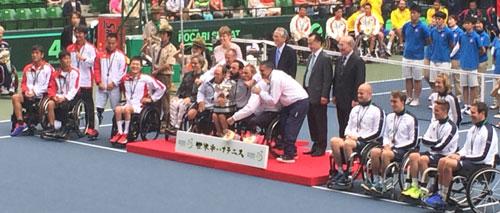 日本男子の9年ぶり3度目の優勝はならなかった。